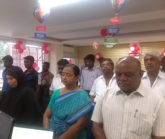 Salem Branch Organises Customers' Reach Out Programme
