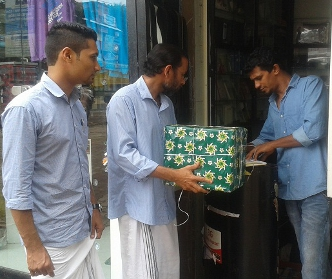 Koyilandi Branch Conducts Mobile Lucky Draw Contest
