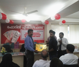 UAE Exchange India Distributes 4th Prize of Onam Hangama Lucky Draw Campaign