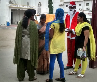 UAE Exchange India Conducts Marketing Campaign in Church