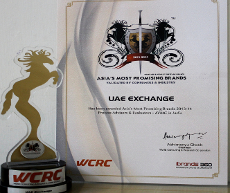 Accolade Crowns UAE Exchange India as the Most Popular Brand