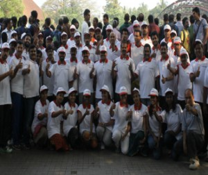 Kochi Steps For Run Kerala Run 2015 - Uae Exchange India